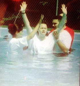stephanie baptism 2000